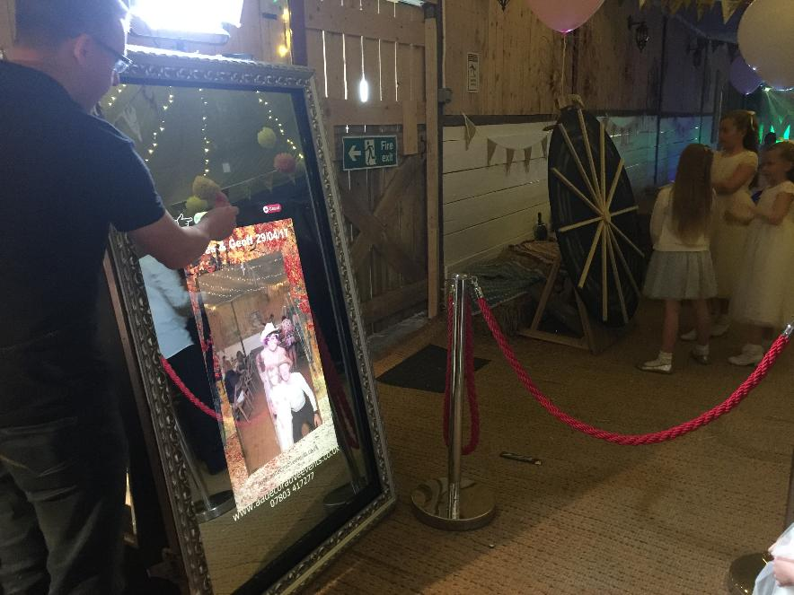 Magic Selfie Mirror Hire Formby - Weddings, Events, Parties